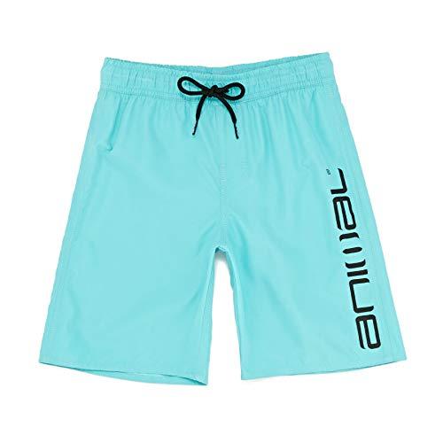 Animal Tannar Boys Boardshorts Age 2 Pacific Blue -