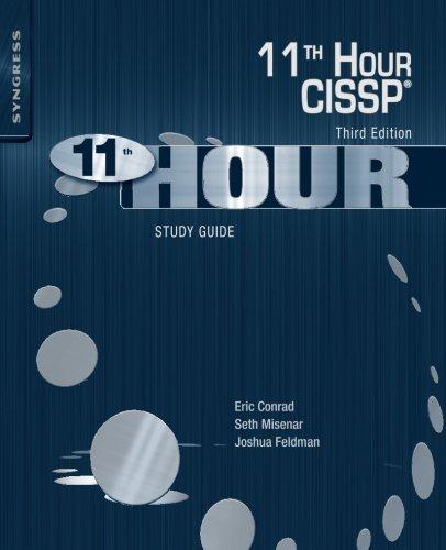 Eleventh Hour CISSP®: Study Guide por Eric Conrad
