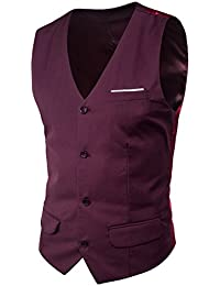 Mxssi Traje Chaleco Patchwork Formal Hombres Trajes Vestidos Más Tamaño Moda Slim Fit Hombres Chaleco Chaleco