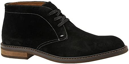 VIONIC Mens 555 Chase Bowery Suede Shoes