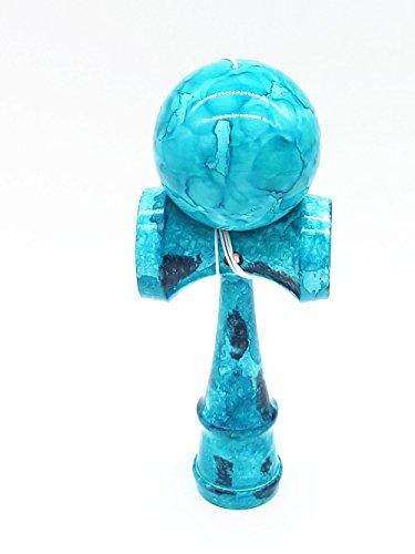 kerang-peindre-a-plein-blue-marble-kendama-chaine-extra-jouets-en-bois-traditionnel-japonais