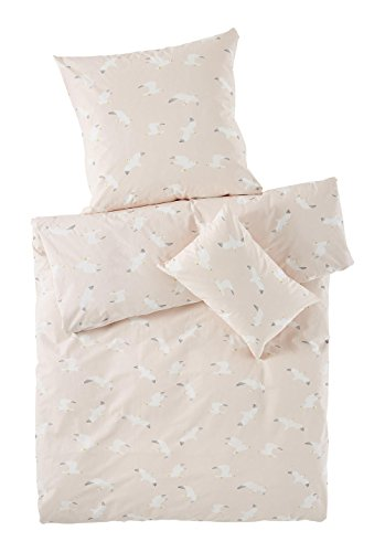 1780dac26d482f hessnatur Baby Mädchen Renforce Bettwäsche aus Reiner Bio-Baumwolle  Bedruckt 100x135+40x60 cm