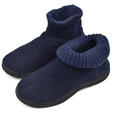 godere di un prezzo economico morbido e leggero godere del prezzo più basso ONCAI Pantofola da Uomo Stivaletti per Pantofole con Stivaletti Imbottitie  Antiscivolo per Uomo