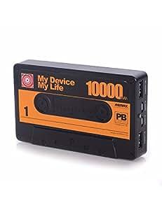 Batterie de secours 10000 mAh - Noir