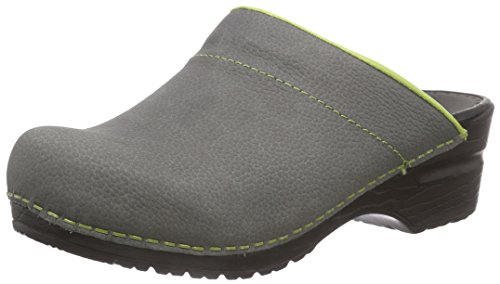 Sanita Eden Open Damen Clogs Grau (Grey 20)