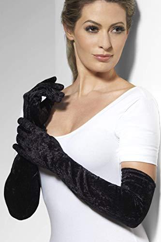 Smiffys - Veloursamt Handschuhe ()