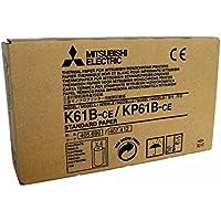 Mitsubishi Electric Corporation K61B-CE/ KP61B-CE Kit Carta Termica per Stampante Medicale, A6, 110 mm x 20 m, 4 pezzi