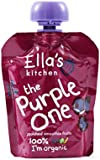 Ella's Kitchen The Purple One Organic Smoothie Fruits 90 g (Pack of 12)