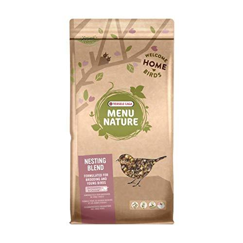 VERSELE LAGA Mélange de graines spécial Croissance pour Oiseaux Sauvages Menu Nature Nesting Blend Sac 10 kg (DLUO 6 Mois)