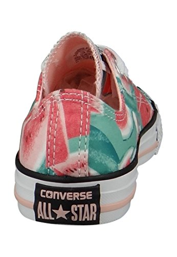 Converse Mandrini bambini 3J232C AS HI CAN Rosso Rosso Vapor Pink Green Glow White
