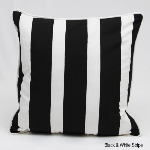 100-cottons-brand-new-blackwhite-stripebold-luxury-cushion-cover-size-18x18