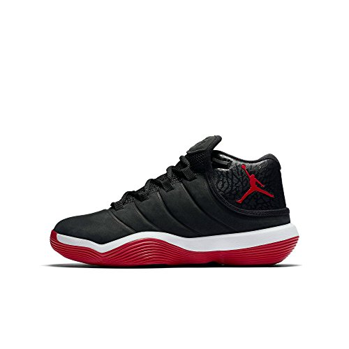 best website 8a506 e74f7 Nike Kinder Jordan Super.Fly 6 (GS) Schwarz Leder Synthetik Basketballschuhe  38.5