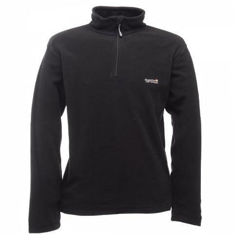 Regatta Men's Thompson Fleece Jacket - Black, 3X-Large