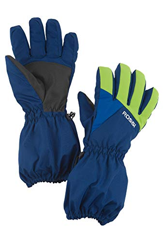 Vittorio Rossi Ski Handschuhe Colourblocked mittelblau,4
