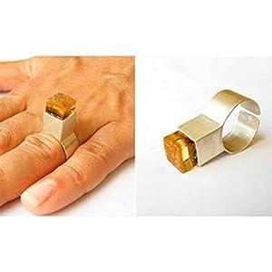 Bernstein Ring Silber 925 NEU Designerstück