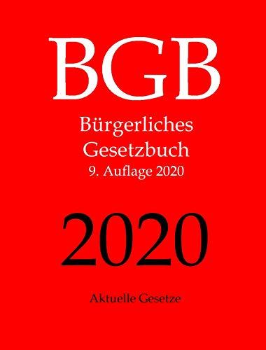 BGB, Bürgerliches Gesetzbuch, Aktuelle Gesetze