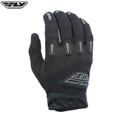 Fly Racing - Guantes Motocross MX MTB Downhill F-16 2017 para adultos, de color negro