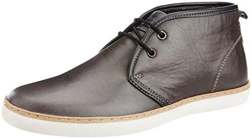 Levis Men's Cannyon Mood Lace Black Leather Sneakers – 9 UK 41VRi5FM0qL