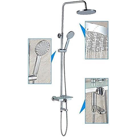 Baño de lujo en general tres baño ducha toca Configurar