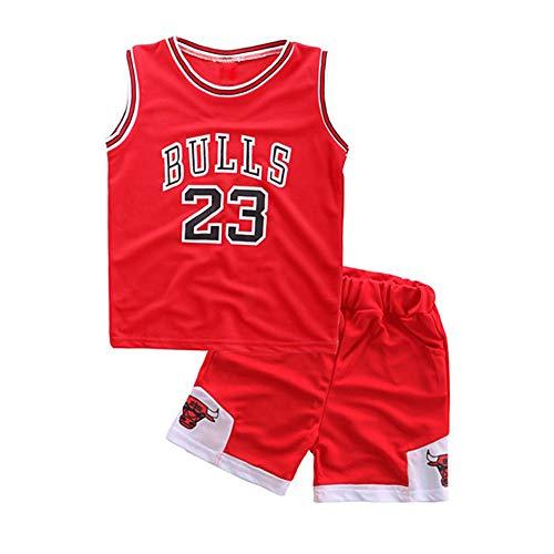 Neborn Kleinkind junge sommer kleidung kinder basketball uniform baby mädchen trainingsanzug 2 stücke set Kinder jungen mädchen sport kleidung set (Basketball Outfits Für Kleinkind)