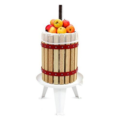 KuKoo Fruit Press & Fruit Crusher/Portable Manual Shredder & Pressed Juice/Homemade Cider & Wine Making Kit/6, 12, 18 Litre (18 Litres)
