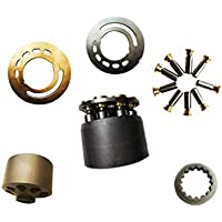 Pump Repair kits includes: Cylinder Block PVD-00B-9//14//15//16P PVD-00B Retainer plate,Ball Guide and Piston shoes Pump Parts for NACHI PVD-00B Piston pump Valve Plate