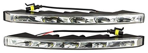 Preisvergleich Produktbild AutoLight24 LED Tagfahrlicht 5 x 1 Watt Power SMD NS-523HP 11