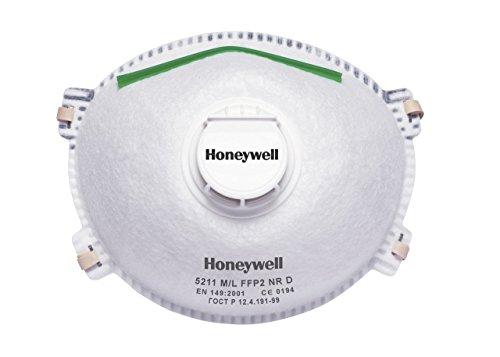Honeywell, 1005099, 5211 Extra grande FFP2 V Series Premium
