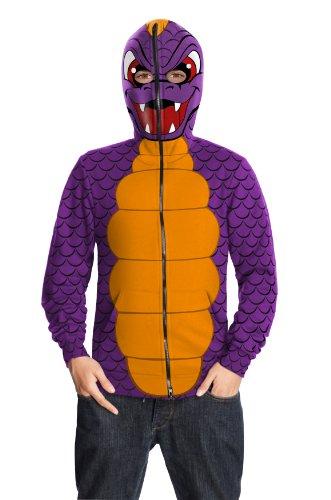 dventure, Tween Spyro Hoodie Costume ()