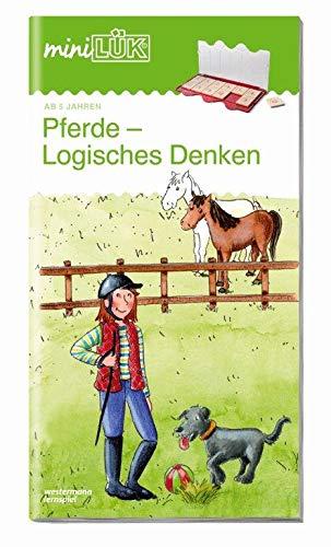 miniLÜK-Übungshefte / Vorschule: miniLÜK: Vorschule: Pferde - Logisches Denken
