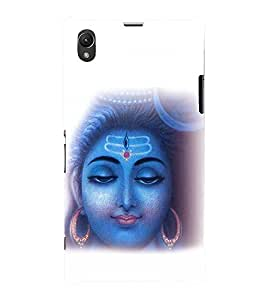 printtech Om Namah Shivaya Lord Back Case Cover for Sony Xperia Z1::Sony Xperia Z1 L39h