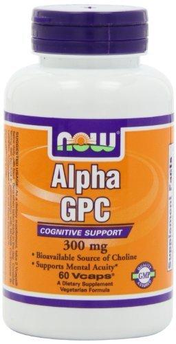 NOW Foods - Alpha GPC 300 mg. - 60 capsule vegetariane