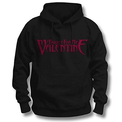 Bullet For My Valentine - Logo, Giacca con cappuccio da uomo, nero (schwarz - schwarz), XL