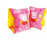 Zoggs Peppa Pig Junior Kids Inflatable Swimming Armbands (2-6 Years)