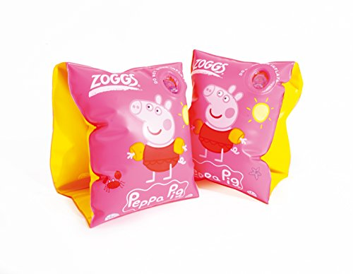 Image of Zoggs Girl's Peppa Pig Armbands - Pink
