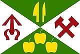 magFlags Bandera Large N?m?Ice okres Blansko   N?m?Ice, Blansko District, Czechia   N?m?Ice, okres Blansko, Esko   Bandera Paisaje   1.35m²   90x150cm
