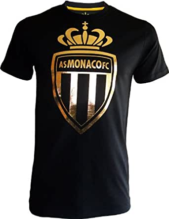 T-shirt ASM - Collection officielle AS MONACO - Football club Ligue 1 - Taille adulte homme XXL