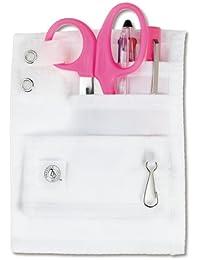 Ncd medical/prestige medical 742 - Hpk - organizador de instrumental médico para cinturón (5 bolsillos), color rosa