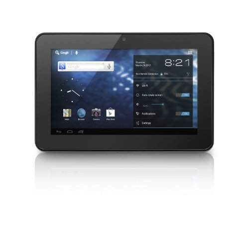 Alcatel One Touch Evo7 Tablet (17,8 cm (7 Zoll) Touchscreen, 1GHz, 1GB RAM, Android 4.0) schwarz