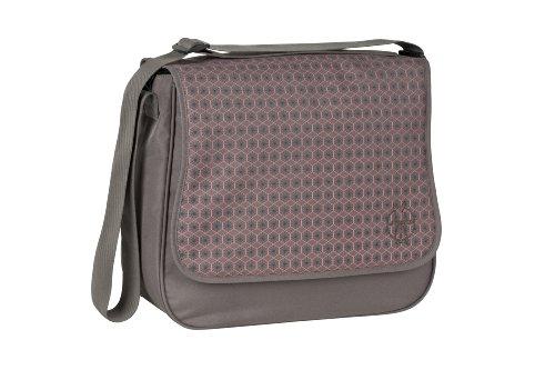 Lässig Basic Messenger Bag Wickeltasche/Babytasche inkl. Wickelzubehör, Comb slate (Lassig Messenger Wickeltasche)