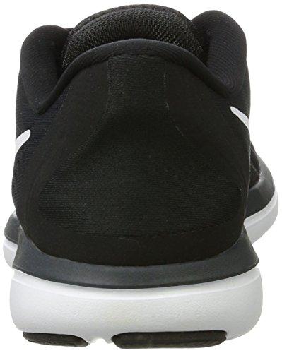 Nike Damen Women's Free Rn Sense Running Shoe Laufschuhe Mehrfarbig (Black/white/anthracite/wolf Grey)