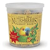 Lafeber's Classic Nutri-Berries for Parrots 12 oz Tub by Lafeber Company