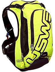 USWE Sports Rucksack F6 PRO Hydro Neon Yellow 15 Liter Volumen + 3,0 Liter Trinkblase