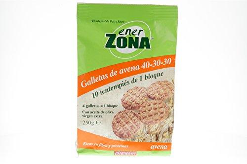 ENERZONA GALLETAS DE AVENA 250 G 40 U