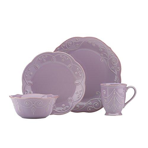 Lenox French Perle violett 4-teilig 4-tlg. Tisch-Set 10.75