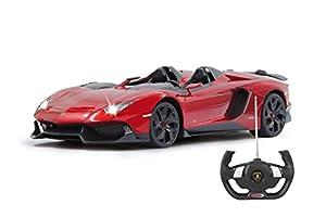 Jamara Lamborghini Aventador J 1:12 Remote Controlled Car - Juguetes de Control Remoto (392 mm, 176 mm, 89 mm, 750 g)