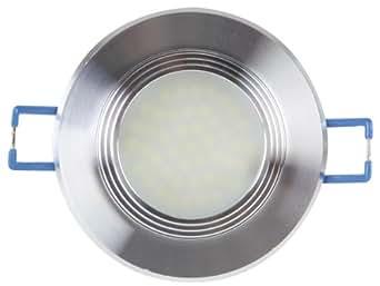 VELL Ight Leda 24nw Lampe LED encastrable avec lentille diffuseur, 4200K, 4,5W, 230V, blanc neutre