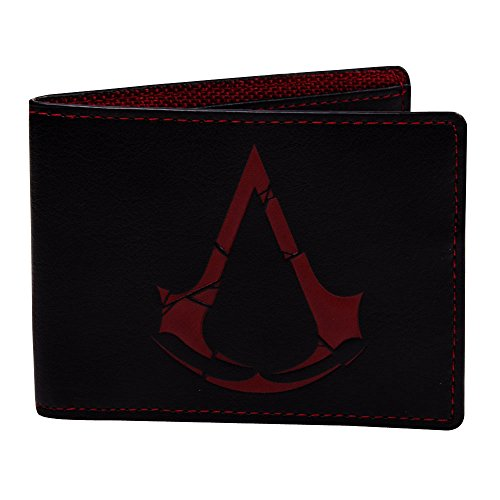 assassins-creed-rogue-crest-logo-bi-fold-wallet-mw879911asr-black-red