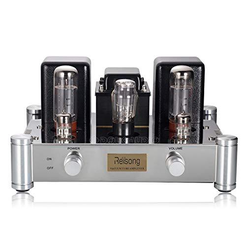 Nobsound® Hi-End Heim-Audio HiFi 2.0 Channel Röhrenverstärker EL34B Stereo Audio Single-Ended Tube Amplifier 12W * 2