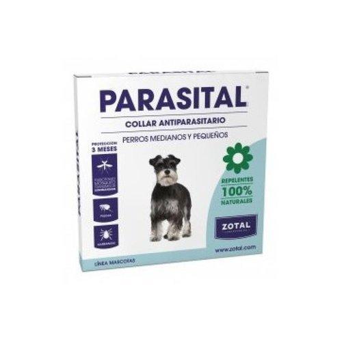 Parasital Collar Antiparasitario para Perros Pequeños y Medianos de Zotal, Repelente ante...